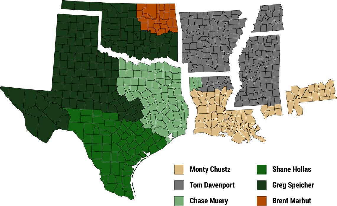 CPTS Territories Map